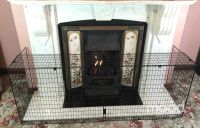 NURSERY Extendable Fire Screen Extending Baby Safe Child