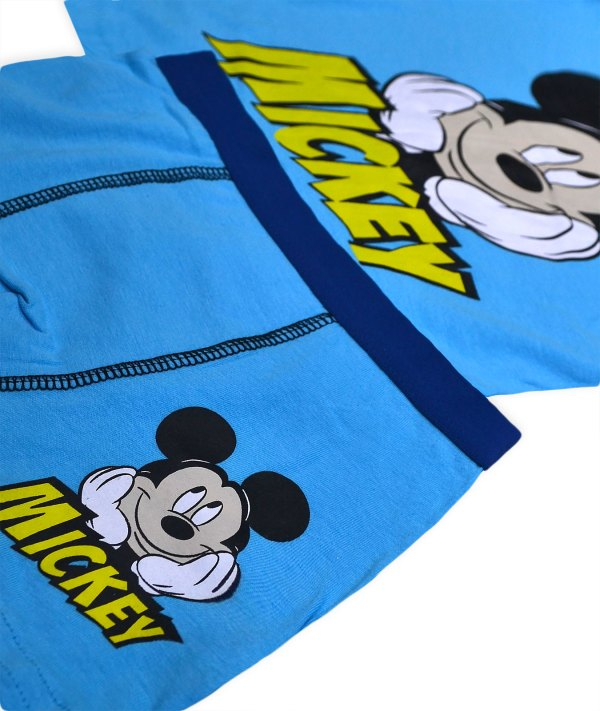 Boys Mickey Mouse Vest And Boxers Set Disney Character Kids Underwear Age3-8