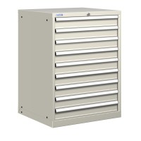 POLSTORE Heavy Duty Steel Tool Storage Cabinet 9 drawer | eBay
