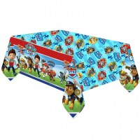 Paw Patrol Tablecover Happy Birthday Party Puppy Pets