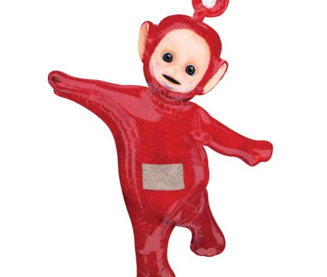 Teletubbies Balloons Birthday Party Decorations Po Red Super Shape Balloon