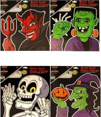 Halloween Car Window Stickers - Party Window decorating ...