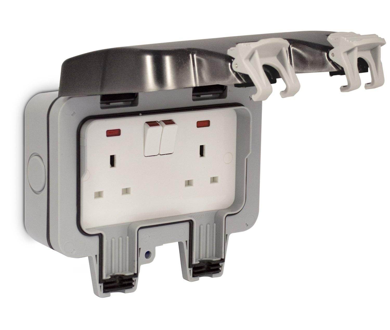 2 gang cooker switch wiring diagram 2000 volkswagen golf radio bg nexus twin 13a dp switched double socket outdoor