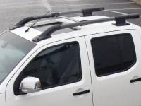 Fits Nissan Navara D40 2006-On OE Roof Rails Roof Bars Ski ...