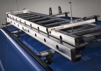 Van Guard Universal Door Ladder Roof Rack Lockable Clamps ...