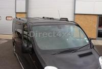 Vauxhall Vivaro Lwb 01-14 Aluminium Roof Bars Luggage Rack ...