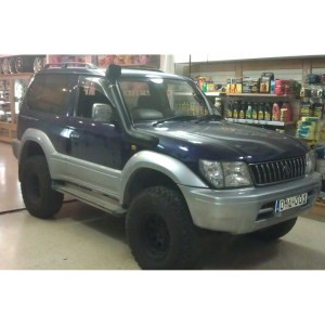 Toyota Land Cruiser Colorado Prado 19952002 Off Road Look Snorkel Kit In Black | eBay