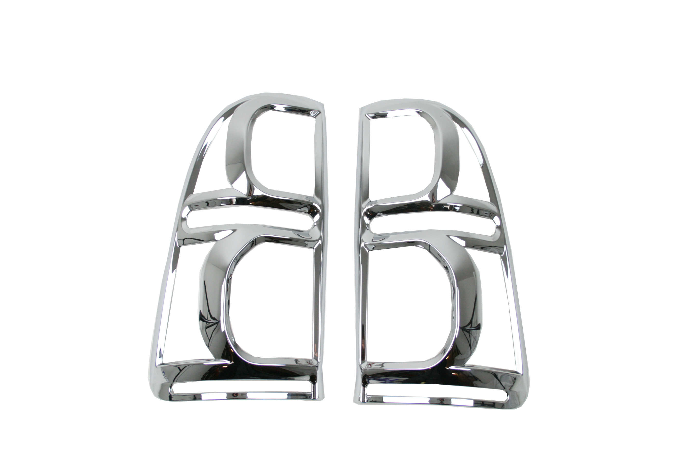 Toyota Vigo Hilux Chromed Tail Light Surrounds