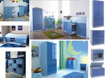 Ottawa Caspian Blue Gloss Boys Bedroom Furniture