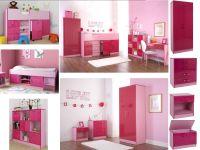 Ottawa Caspian Pink Gloss Girls Bedroom Furniture ...