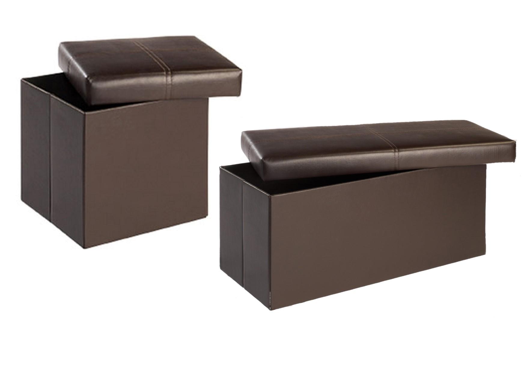 madrid ottoman storage stools boxes