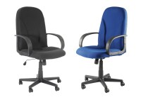 Boston Classic high back fabric office chair - Black or ...