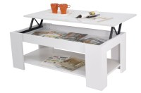 New Kimberly Lift Up Top Coffee Table with Storage & Shelf ...