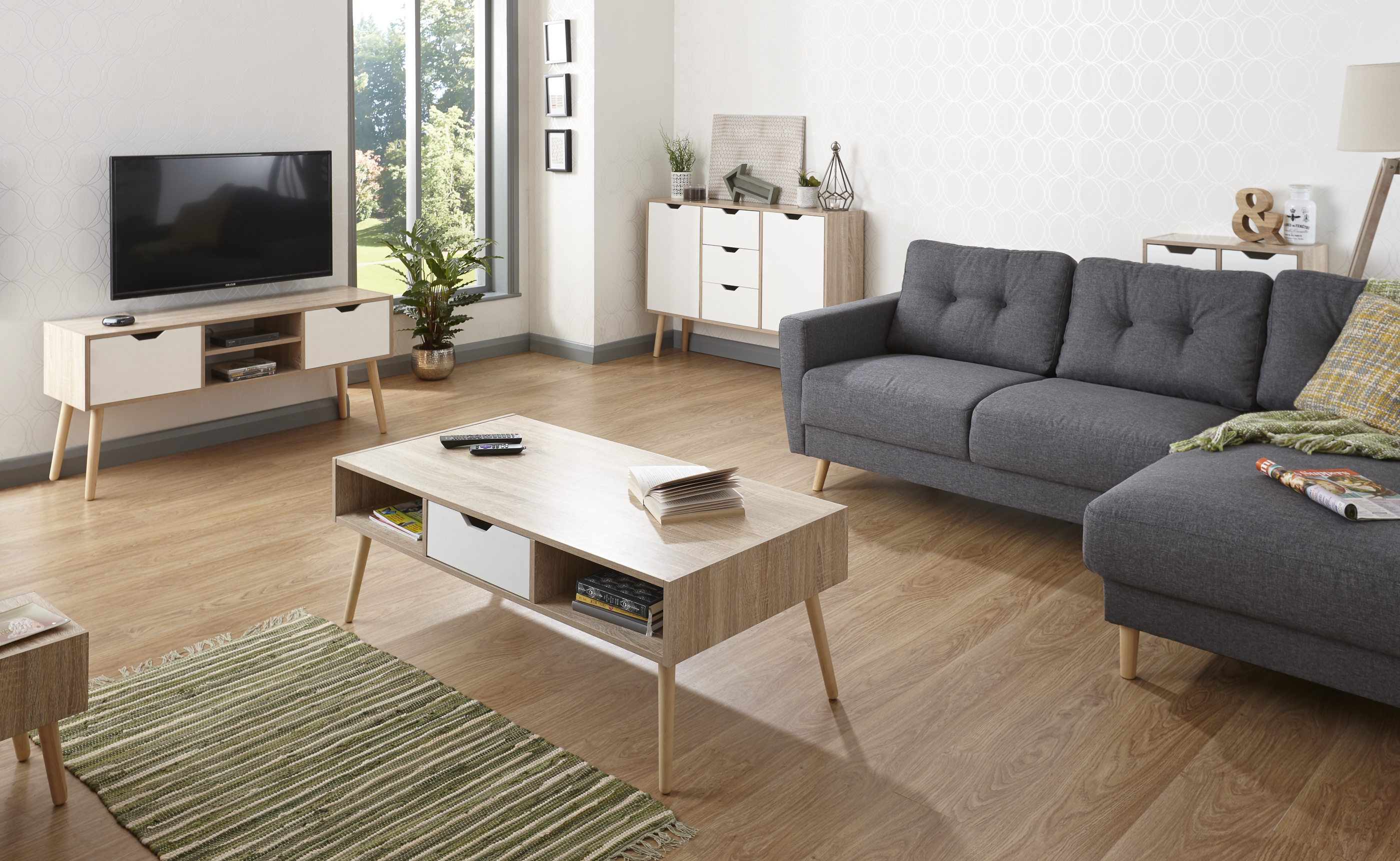 no coffee table living room modern accent rugs for stockholm scandinavian furniture retro cabinets tables details about tv unit