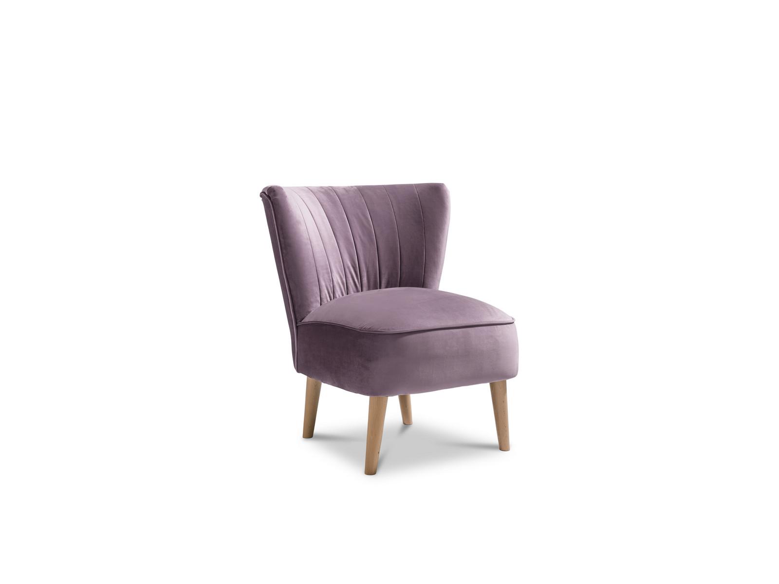 Malmesbury Accent Chair Plush Lilac Light Legs Fabric Armchair 5055641339922 Ebay