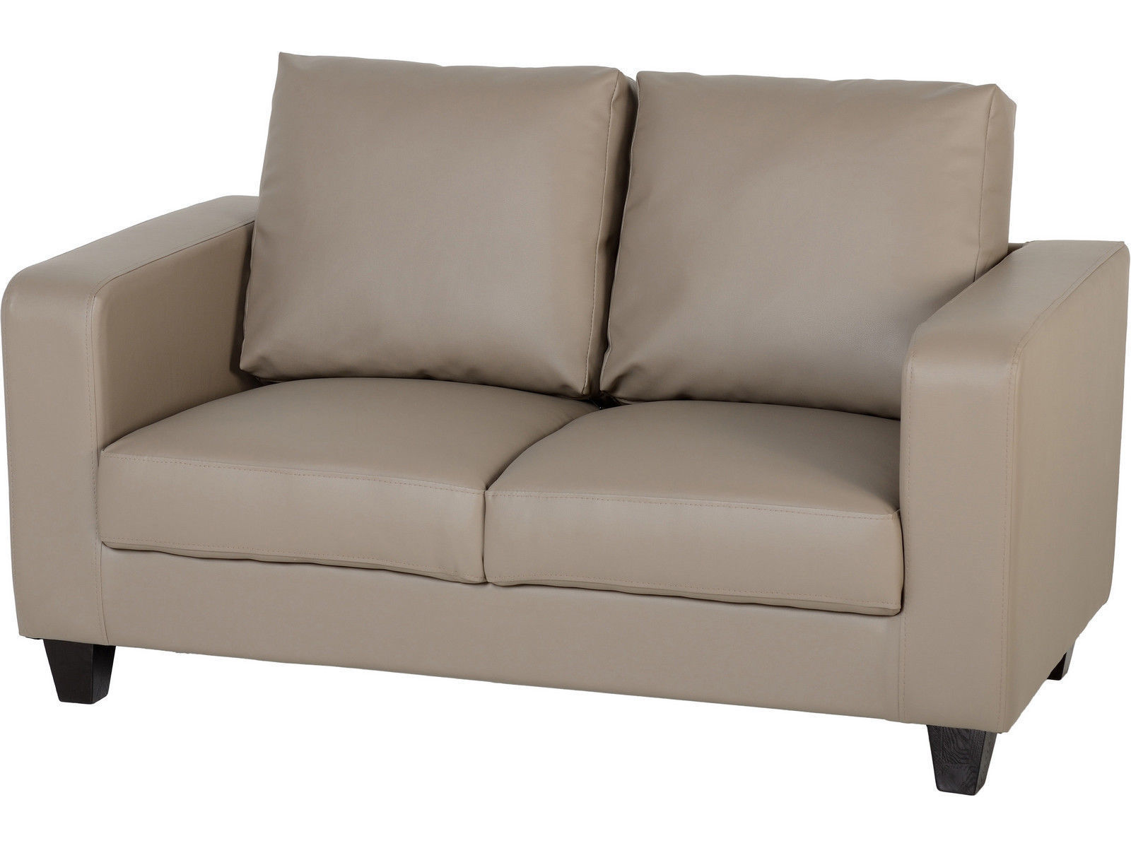 sofa box ashley alenya charcoal review seconique tempo 2 seater in a taupe faux
