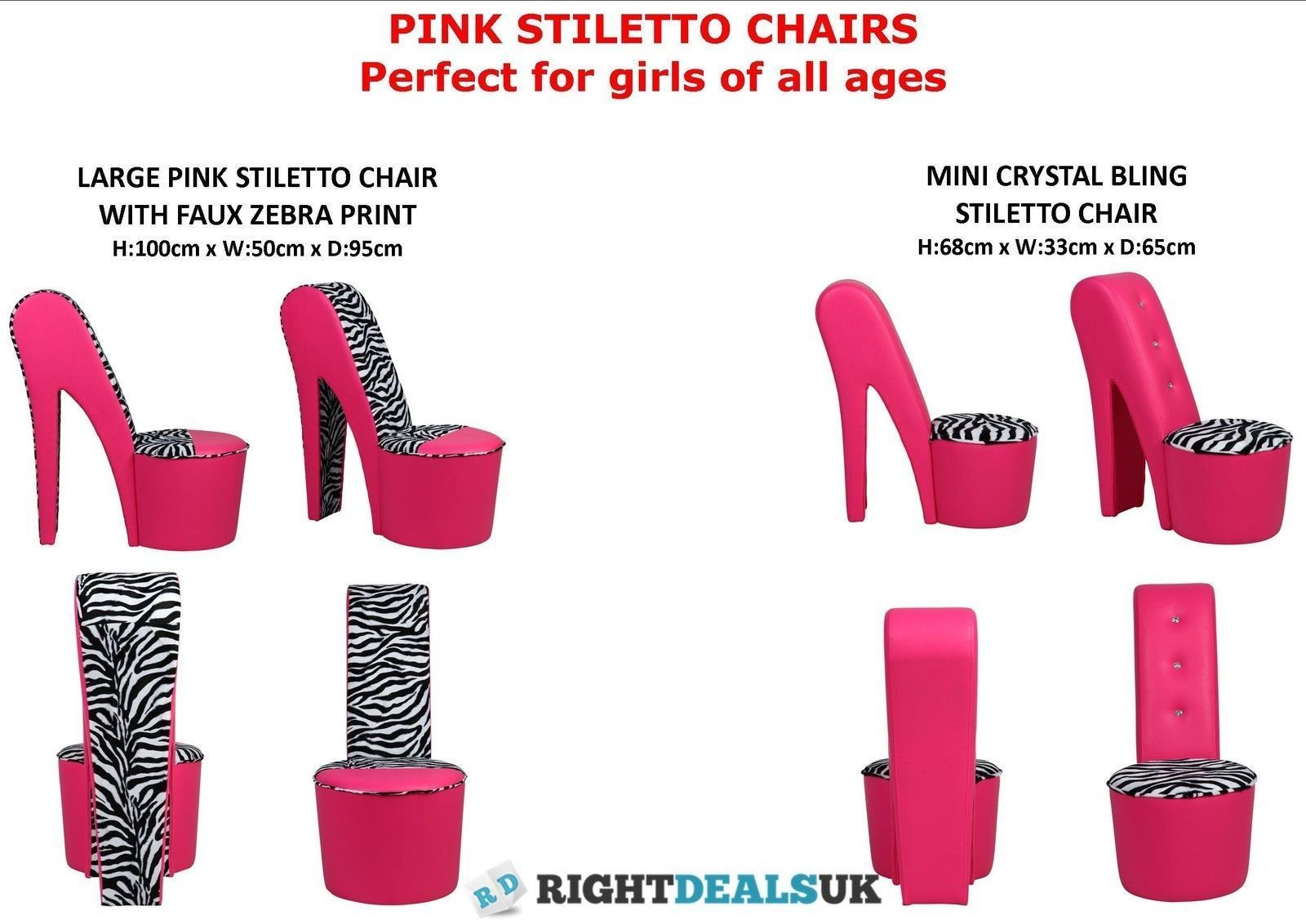 cheetah print heel chair counter chairs amazon stiletto high pink faux leather girls mini