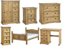 Seconique Corona Mexican Solid Pine Bedroom Furniture ...