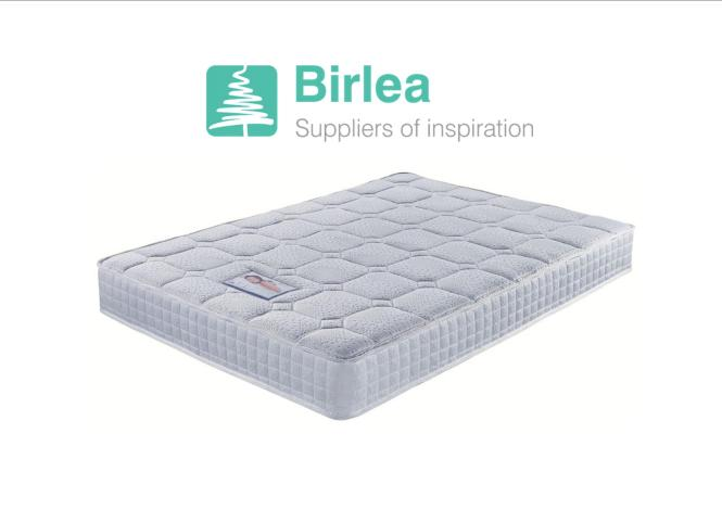 Birlea Luxor Memory Foam Pocket Sprung Mattress 4ft 4ft6 Double 5ft Kingsize