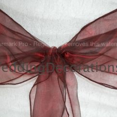Chair Covers With Pink Bows Best Chairs Swivel Glider Recliner Premium Quality Wedding Cover Sashes Organza