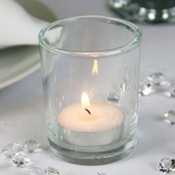 Bulk Buy Glass Votive Tea Light Candle Holder Wedding