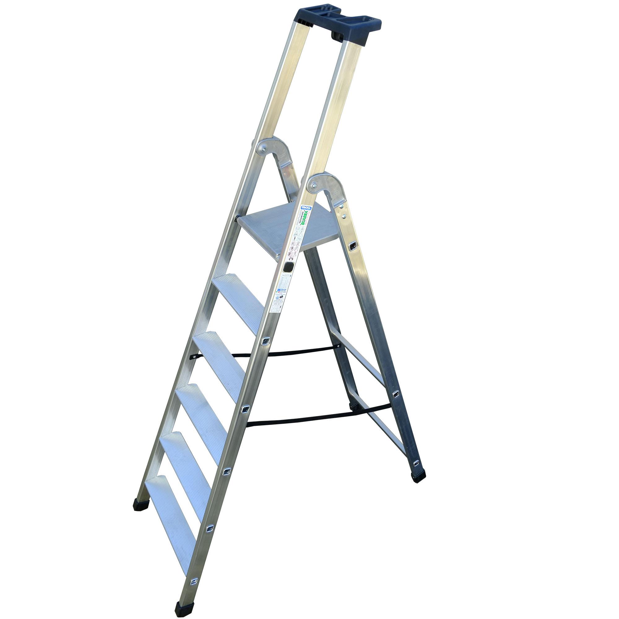 Tb Davies Quadra Platform Step Ladder Heavy Duty Cast
