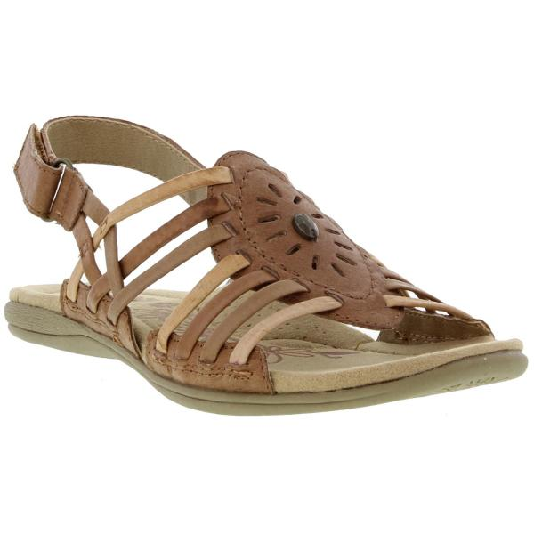 Earth Spirit Corona Womens Leather Sandals Brown Size 4-8