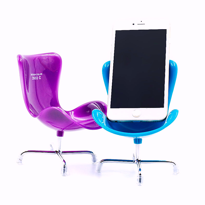 desk chair ebay uk covers lincraft 4 x mobile phone holder novelty stand iphone samsung assorted colours 4032037465282 ...