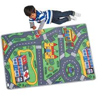 120x80cm Childrens Kids Car Road City Town Circuit Play ...