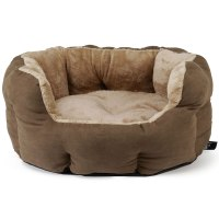 Bunty Polar Dog Bed Soft Washable Fleece Fur Cushion Warm ...