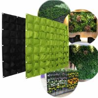 72 Pocket Planting Bag Hanging Wall Vertical Planter ...