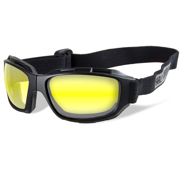 Harley Davidson Wiley X Bend Yellow Matt Black Frame