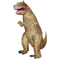 T-REX Jurassic Park Inflatable Dinosaur Costume Childs ...