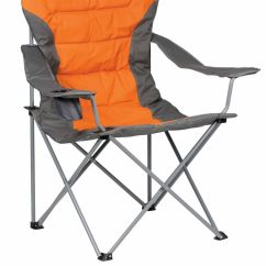 Burnt Orange Chair Uk Cover Hire Bournemouth Kampa Xl High Back Folding Camping Ebay