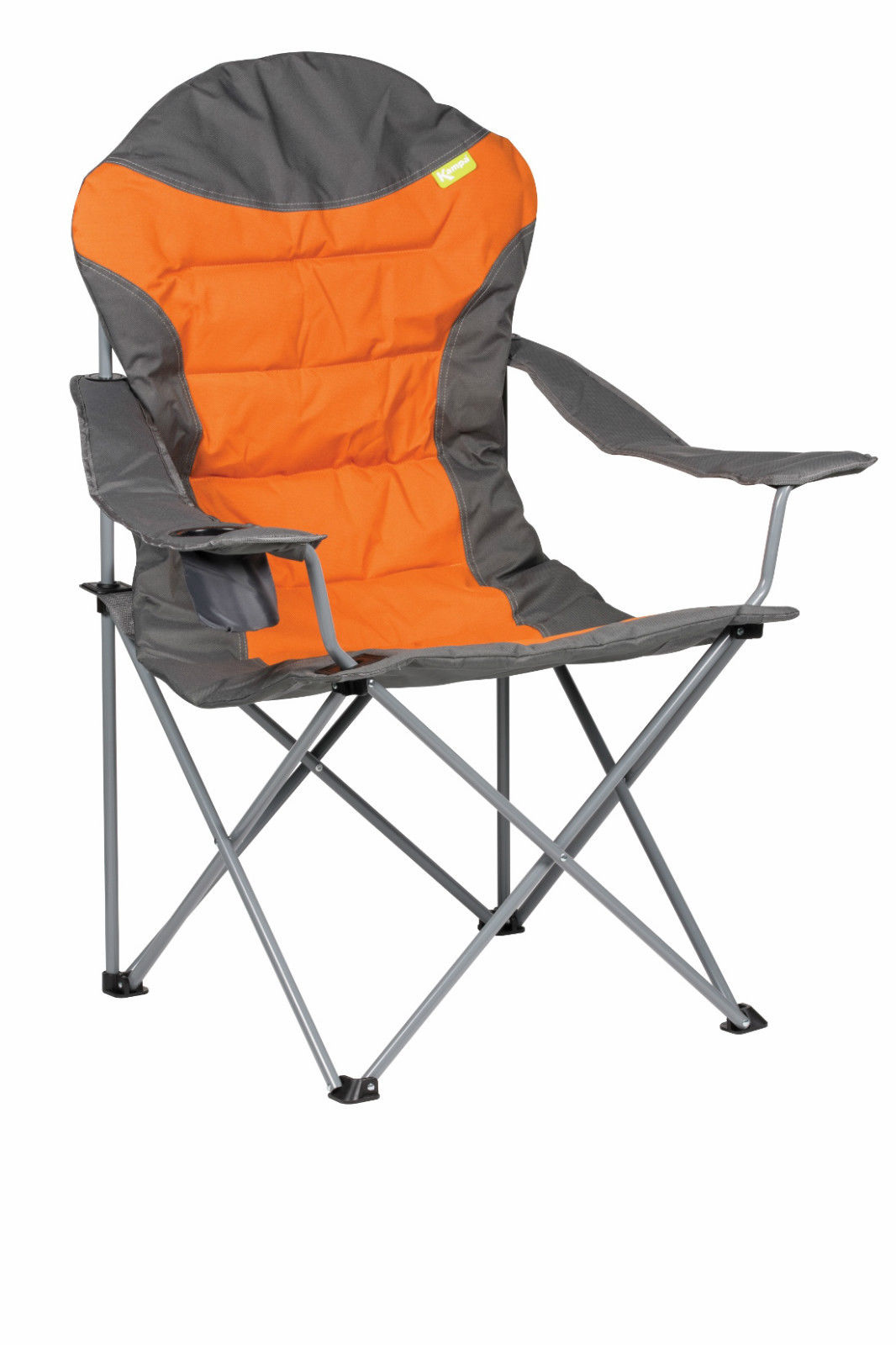 Folding Camping High Chair Kampa Xl High Back Folding Camping Chair Burnt Orange Ebay