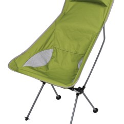 Lightweight Camping Chair Rolling Desk On Wood Floor Kampa Tote Super Folding Green