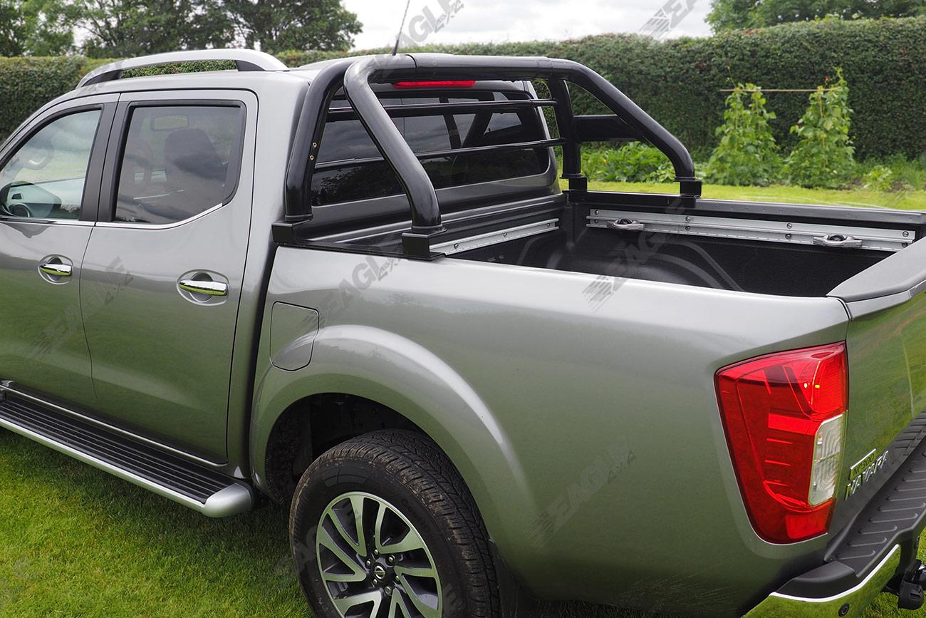 Nissan Navara Np300 Hawk Roll Bar Black Fits With