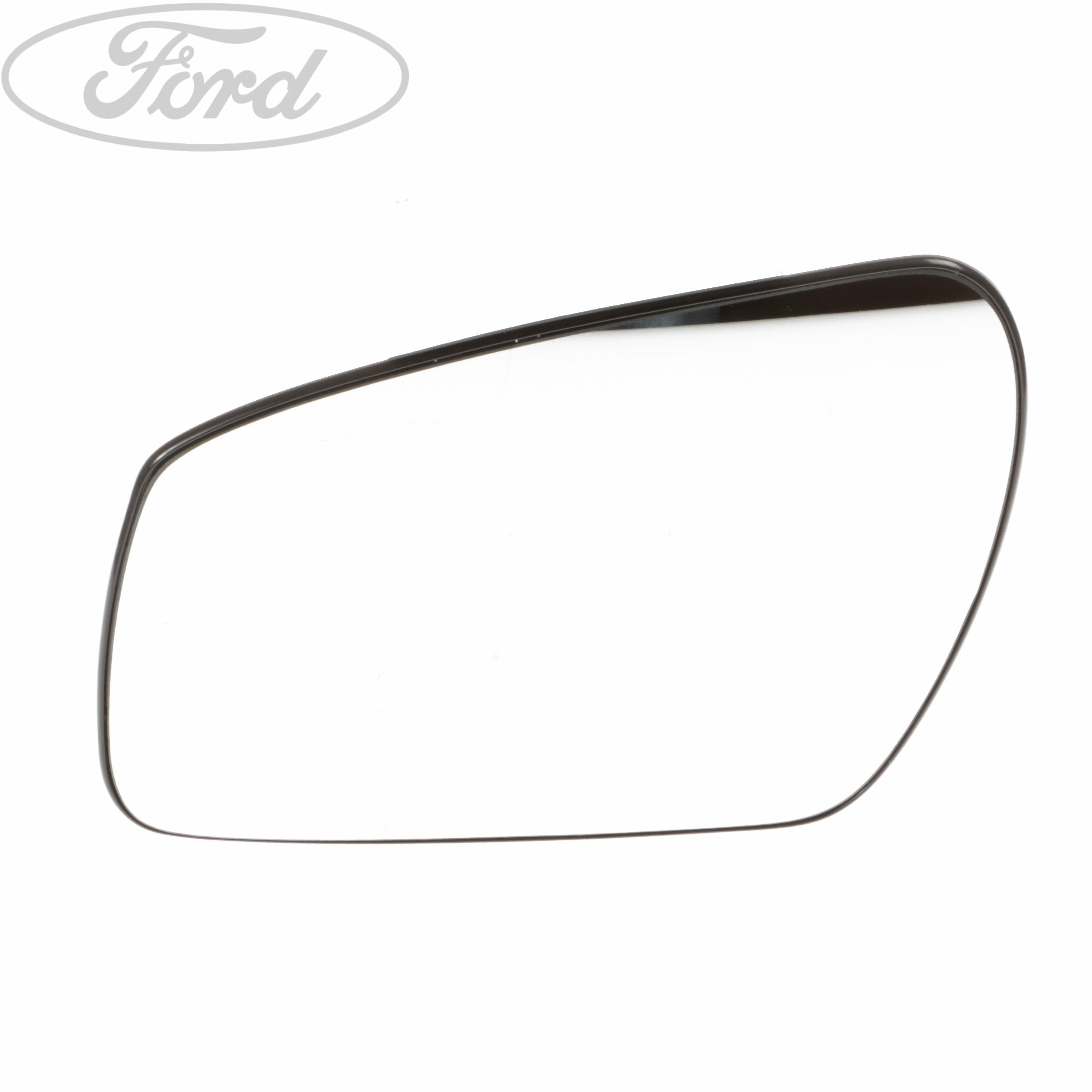 Genuine Ford Fiesta MK6 Fusion N/S Wing Mirror Glass