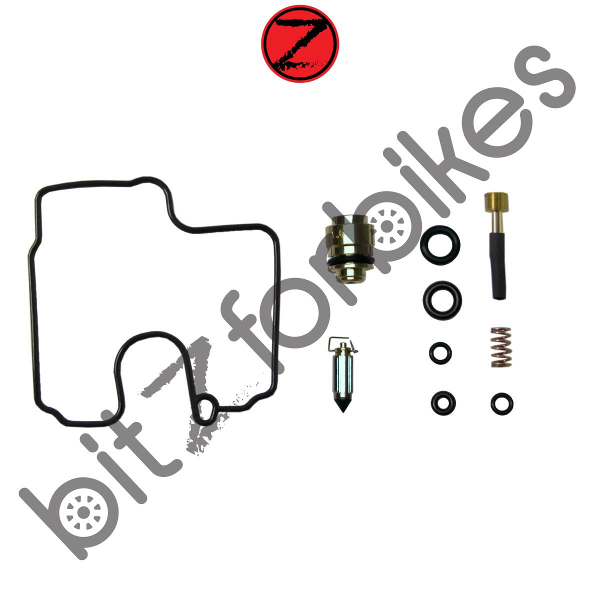 Carb Carburettor Repair Kit Kawasaki ZX6R ZX600J1 2000
