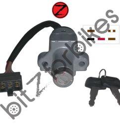 sentinel ignition switch 5 wire honda cbx 1000 b mono shock sc06 1981  [ 1200 x 1200 Pixel ]