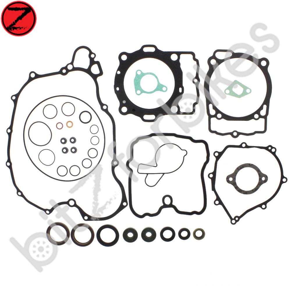 Complete Engine Gasket Set Kit Athena KTM EXC 500 ie