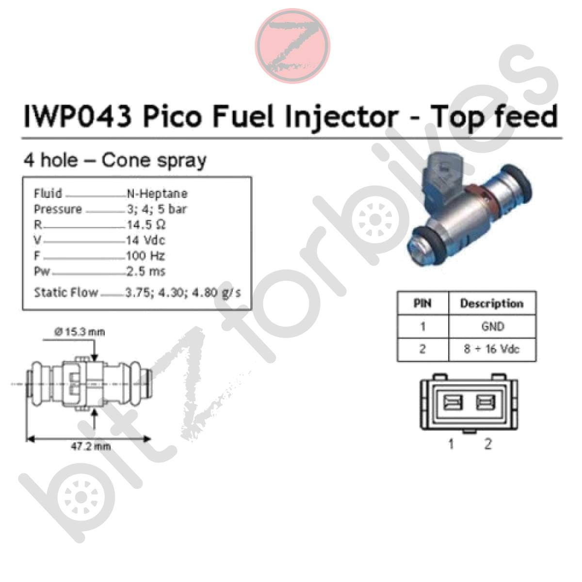 Fuel Injector Ducati Monster S2r
