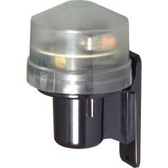 Photocell Switch Truck Trailer Wiring Diagram Knightsbridge Dusk To Dawn Sensor Light