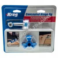 Kreg Concealed Hinge Hole Jig for Kitchen Cabinet Doors ...