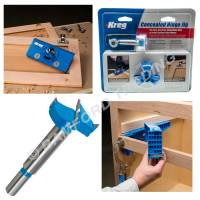 Kreg Concealed Hinge Hole Jig for Kitchen Cabinet Doors