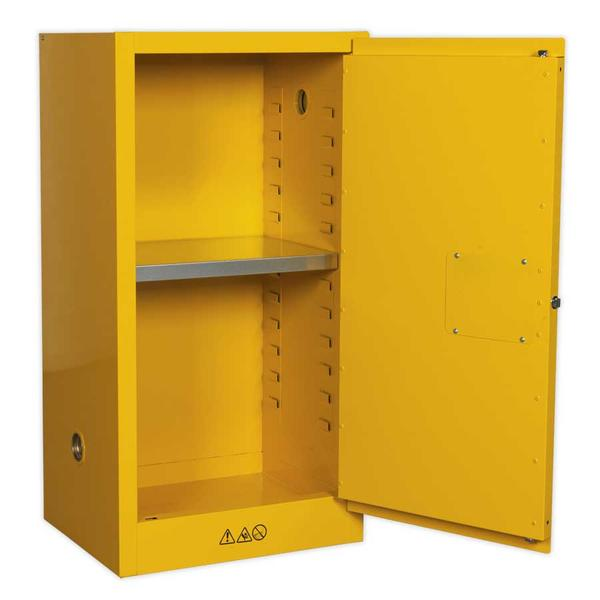 Sealey FSC08 Flammables Storage Cabinet 585 x 460 x 1120mm