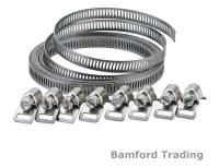 Draper 3m Long Hose Clip Clamp Band Strap Adjustable ...
