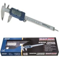 sealey ak962ev digital vernier calliper 0 150mm 0 6 thumbnail  [ 1800 x 1800 Pixel ]