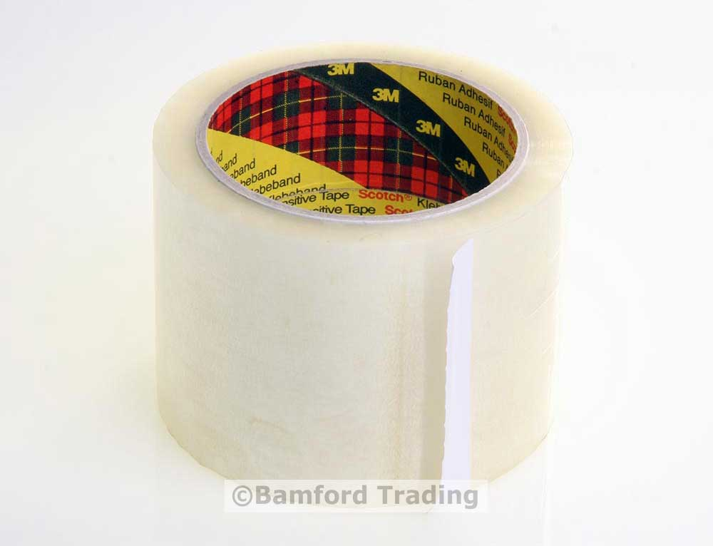 Scotch 3m 75mm Wide Clear Packing Tape  Scotch 3m 75mm