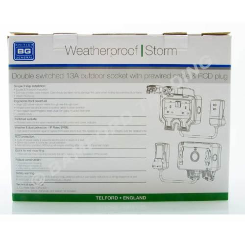 small resolution of  masterplug weatherproof outdoor mains power kit nexus wp22kit 3 thumbnail 3